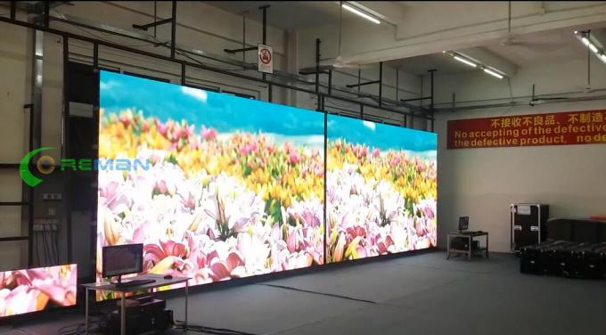 HD LED Video Wall Display , P5 P8 Advertising Outdoor LED Display Board SMD 3528 2121