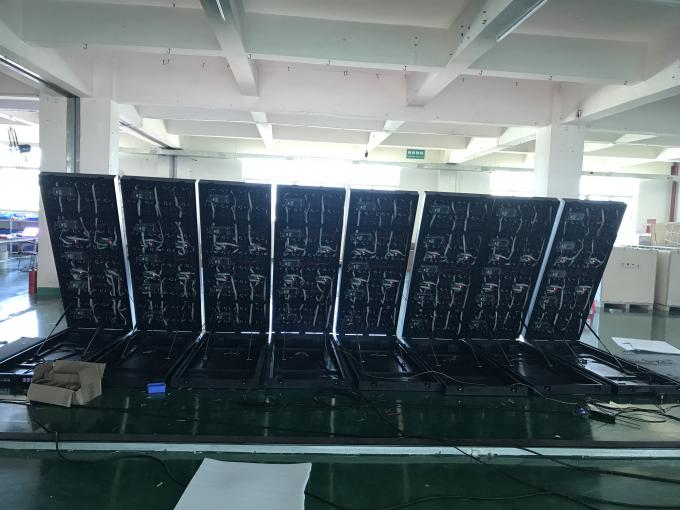 Internal P2 P3 Large LED Video Screens Front Access Fulll Color With Magnet