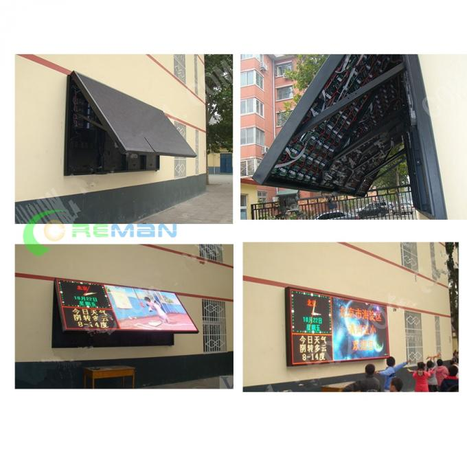 Flexible Front Service LED Display , Outdoor LED Sign Boards 640x640 768x768