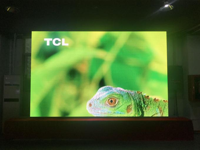 Large Indoor LED Video Wall Display 600mm * 337.5mm , Cabinet P2 LED Screen