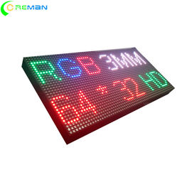 China Hs Code LED Display Module 32x64dots , P3 LED Module Test 72hrs Before Sending supplier