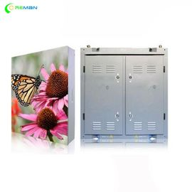 China P4 P5 LED Display Cabinet , Full Color Led Display Board Steel Aluminium Outdoor Indoor supplier