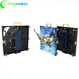 China Exterior Small LED Video Wall Cabinet Advertising Ultra Slim 500x500mm 3.91mm Pixel supplier