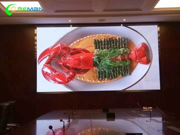 China Full Color Front Service LED Display , Indoor P5 LED Panel By Novastar Controller supplier
