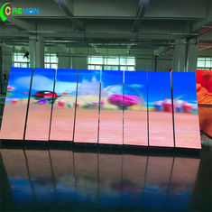 China Internal P2 P3 Large LED Video Screens Front Access Fulll Color With Magnet supplier