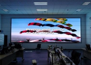 China Giant P4  Front Service LED Display Wall Mounted Indoor Iron Fixed Installation supplier