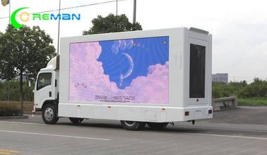 China Small Square TV LED Mobile Van Advertising 96X96 By 7000 Cabinet Kinglight Lamp supplier