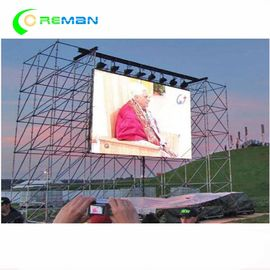SMD 3535 Sign Rental LED Display Screen 640X640mm 960X960 Die Casting Material