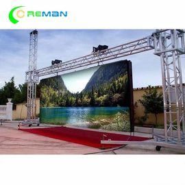 P10 Outdoor Rental LED Display , Large LED Screen Hire 640X640mm 960X960