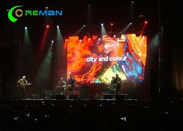 P2.5 Indoor Stage Rental LED Display High Definition , Big P3 P4 P4 LED Panel