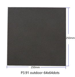 P3.91 Dot Matrix LED Display Module 64x64 Dots 250mm X 250mm 5V Input Full Color