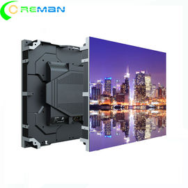 China Hanging HD LED Display , Wall Mounted HD Led Video Wall P1.875 P1.8 P1.87 Fast Install factory